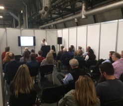Seminar talk on the benefits of vending to farm businesses